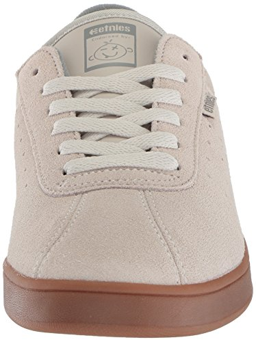 Etnies Men's The Scam Skate Shoe, White White/Gum