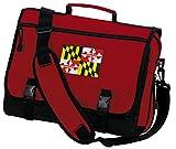 Maryland Laptop Bag Maryland Flag Messenger Bag or Computer Bag