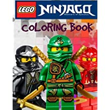 LEGO NINJAGO Coloring Book:  A Great Coloring Book on the Ninjago Characters. Great Starter Book for Young Children Aged 3+. An A4 40 Page Book for Any Avid Fan of LEGO Ninjago.