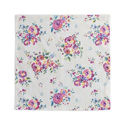 Maison d' Hermine Rose Garden 100% Cotton Set Of 4 Napkins 20 Inch by 20 Inch