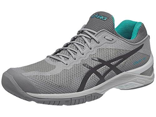 ASICS Unisex-Adult Court FF Shoes, Size: 7 D(M) US, Color Aluminum/Dark Grey/Lapis
