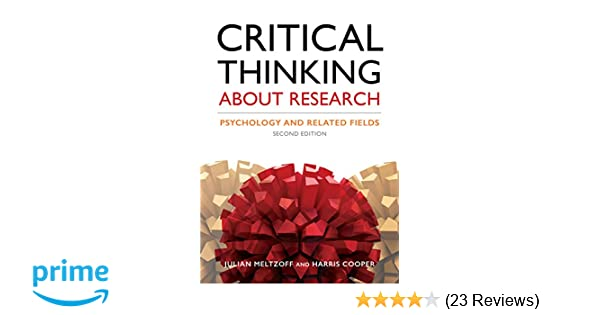 critical thinking about research julian meltzoff