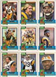 St Louis Rams 1990 Topps Football Team Set (Los Angeles) (Jim Everett) (Kevin Greene) (Flipper Anderson) (Pete Holohan) (Greg Bell) (Henry Ellard) (Tom Newberry) (Jackie Slater)and More