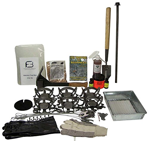 F&T Fox Trapping Starter Kit Bundle by F&T Fur Harvester's Trading Post