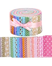 Jelly Roll Fabric Strips for Quilting