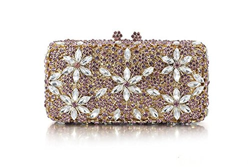 Bride High grade Bag Fashion Women's Clutch Package Diamond Diamonds Luxury Gold xgZTF0q