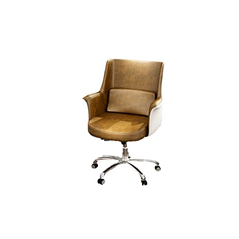 Phenomenal Amazon Com Cqiang Nordic Swivel Chair Artificial Leather Uwap Interior Chair Design Uwaporg