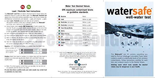 TDSEZ + WS-425W, HMD TDS ppm Meter + Watersafe Well Drinking Water Test Kit, Bacteria, Lead, Pesticide, Nitrate / Nitrite, pH, Hardness, Chlorine, Copper, Iron by HM Digital (Image #1)