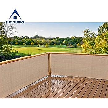 Amazon.com : Alion Home© HDPE Privacy Screen For Patio, Deck ...