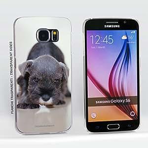 Funda Carcasa dura para Samsung Galaxy S6 - Perro del Schnauzer