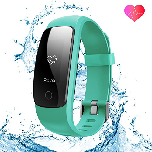 runme Fitness Tracker Upgraded 2018 3rd Generation Activity Tracker, Sports Fitness Watch with Sleep and Heart Rate Monitor, IP67-rated Waterproof Smart Band with Pedometer for Smartphone (Track The Present Location Of Mobile No)