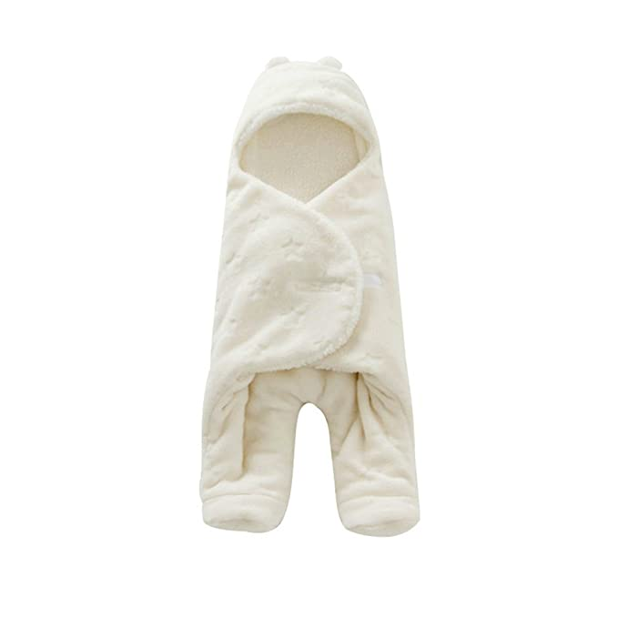 Samgu - Saco de Dormir - para bebé niña Blanco 0-1 Años: Amazon.es: Ropa y accesorios