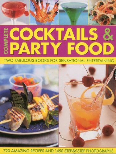 Complete Cocktails and Party Food: Two Fabulous Cookbooks in One Special Gift Box by Stuart Walton, Bridget Jones
