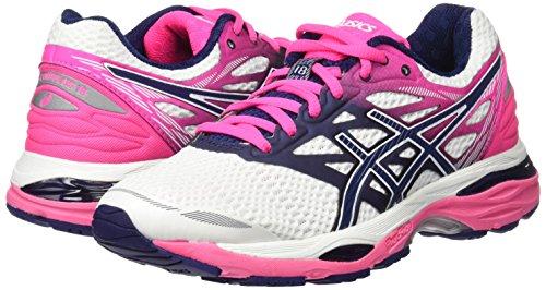 T6c8n0149 white Blanco Zapatillas Pink Pink Hot De Para Indigo Asics Running 37 Mujer Blue Eu 0dwY0x5