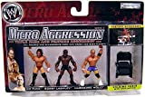 WWE Wrestling Micro Aggression Series 4 Figure 3-Pack CM Punk, Bobby Lashley & Hardcore Holly