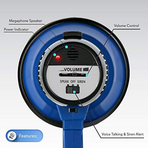 Velcro Altoparlante 0 Mocassini A Eleganti Da Bambini Bullhorn Donna Scarpette Voltaic Pyle Strappo Pa Fade Megafono 3 5Iw4n6xqB