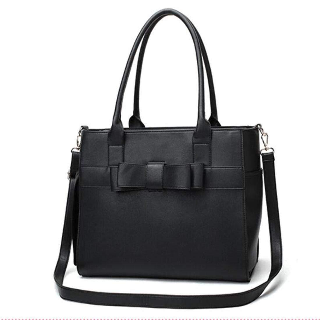 Xinnegen Portable Black PU Leather Dog Carriers Bag Pet Messenger Bag Puppy Handbag Cat Cage Doggy Pouch 41  33  28cm