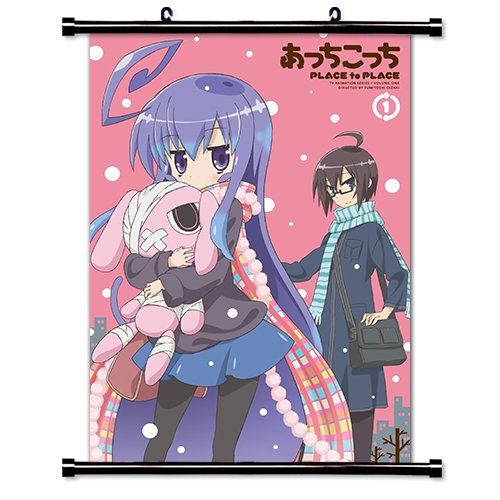 Acchi Kocchi Fortune Anime Fabric Wall Scroll Poster Wp Acchi-4 L