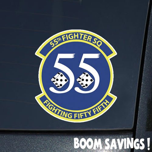 Air Force USAF 55th Fighter Squadron 6