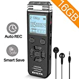 EVISTR V508 16gb Digital Voice Recorder for Lectures Meetings - Portable Recording Devices with...