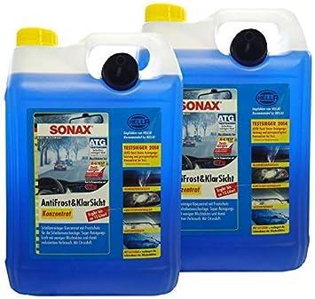 Preisjubel 2 X Sonax Antifrost Klarsicht Konzentrat 5 L Frostschutz Enteiser Reiniger Auto