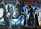 Hellboy Movie & Underworld Trilogy DVD - movie Set - (Underworld / Underworld: Evolution / Underworld: Rise of the Lycans)