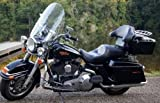 Tour Pack Pak Trunk Luggage For Harley Road King
