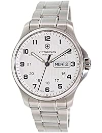 Swiss Army Officers Day and Date Mens Watch 241551