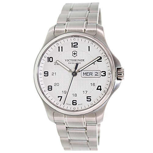 [Victorinox Swiss Army Officers Day and Date Mens Watch 241551] (Date Swiss Automatic Watch)
