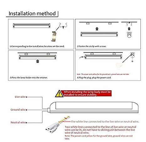 CIDA T8LED Tube Light Bulb 4FT, 48 inches, 24W, 80W Equivalen 192 pc ...