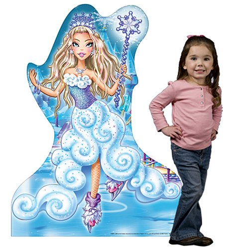 3 ft. 10 in. Candy Land Princess Frostine Standee Standup Photo Booth Prop Background Backdrop Party Decoration Decor Scene Setter Cardboard Cutout]()