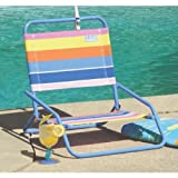 Mid Back Sand Chair, STEEL SAND CHAIR