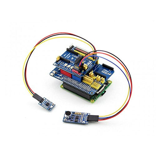 Venel Raspberry Pi Expansion Board, Compatible with Arduino UNO, Leonardo, Easy to Connect with Various Arduino Shields,XBee Connector for Connecting Various XBee Modules. Sensor Interface