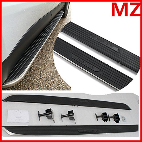 T-Foot Pair For 2017 2018 Jaguar F-Pace Running Boards Side Steps Nerf Bars by T-Foot