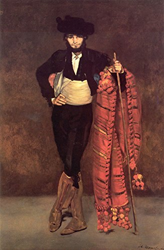 Manet Edouard Young Man in the Costume of a Majo 100% Hand Painted Replica Oil Paintings 36X48 Inch ()