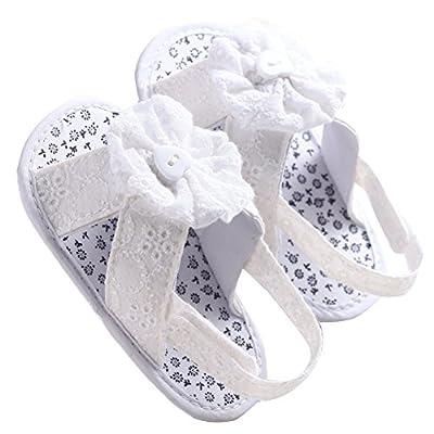 WAYLONGPLUS Baby Girl's Prewalker Summer Cotton Soft Sole Non-slip Baby Shoes : Baby