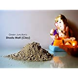 Shadu Mati (Clay) 1 kg Bag- Clay Jewellery /Eco Friendly Ganesha /Clay Idols/Clay Modelling (Smooth ,Super Fine & Easily Malleable Texture)