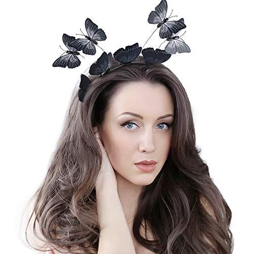 Fascinators for Women Butterfly Creative Headband Tea Party Wedding Festival ()