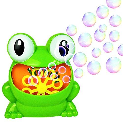 YLLuck Bubbles Hurricane Machine, Durable Bubble Maker Toys for Kids Boys Girls