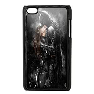 Catwoman Series, Ipod Touch 4 Cases, Cat and the Bat Cases for Ipod Touch 4 [Black]