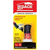 LePage Super Glue Liquid Brush-On, 5ml Bottle (1668034)