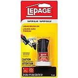 LePage Super Glue Liquid Brush-On, 5ml Bottle (1668034)