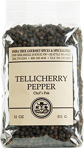 India Tree Tellicherry Pepper, 11 Ounce (India Tree Pepper Tellicherry)
