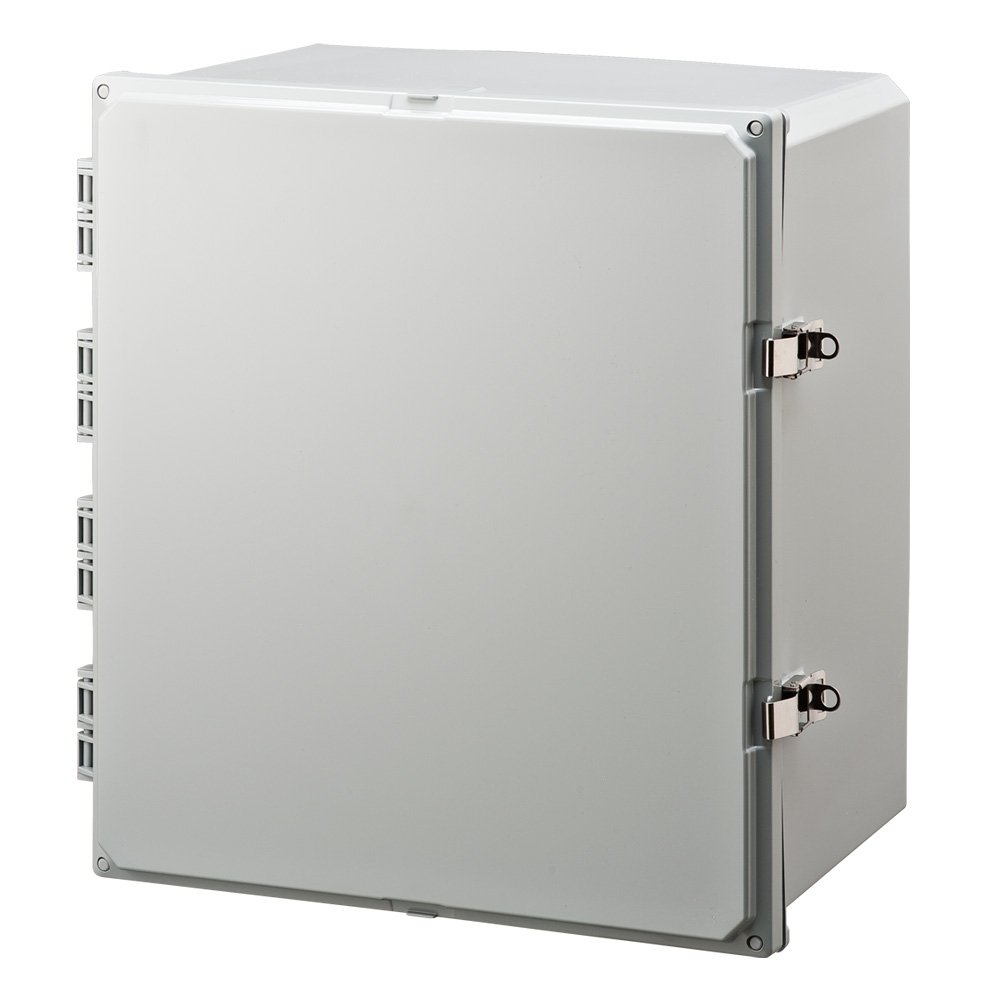 Integra H181610HLL Premium Line Enclosure, Hinged, Locking Latch Cover, Opaque Cover, Mounting Feet, 18'' Height, 16'' Width, 10'' Depth