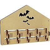 Azeeda 'Flying Bats' Wall Mounted Coat Hooks / Rack (WH00019240)