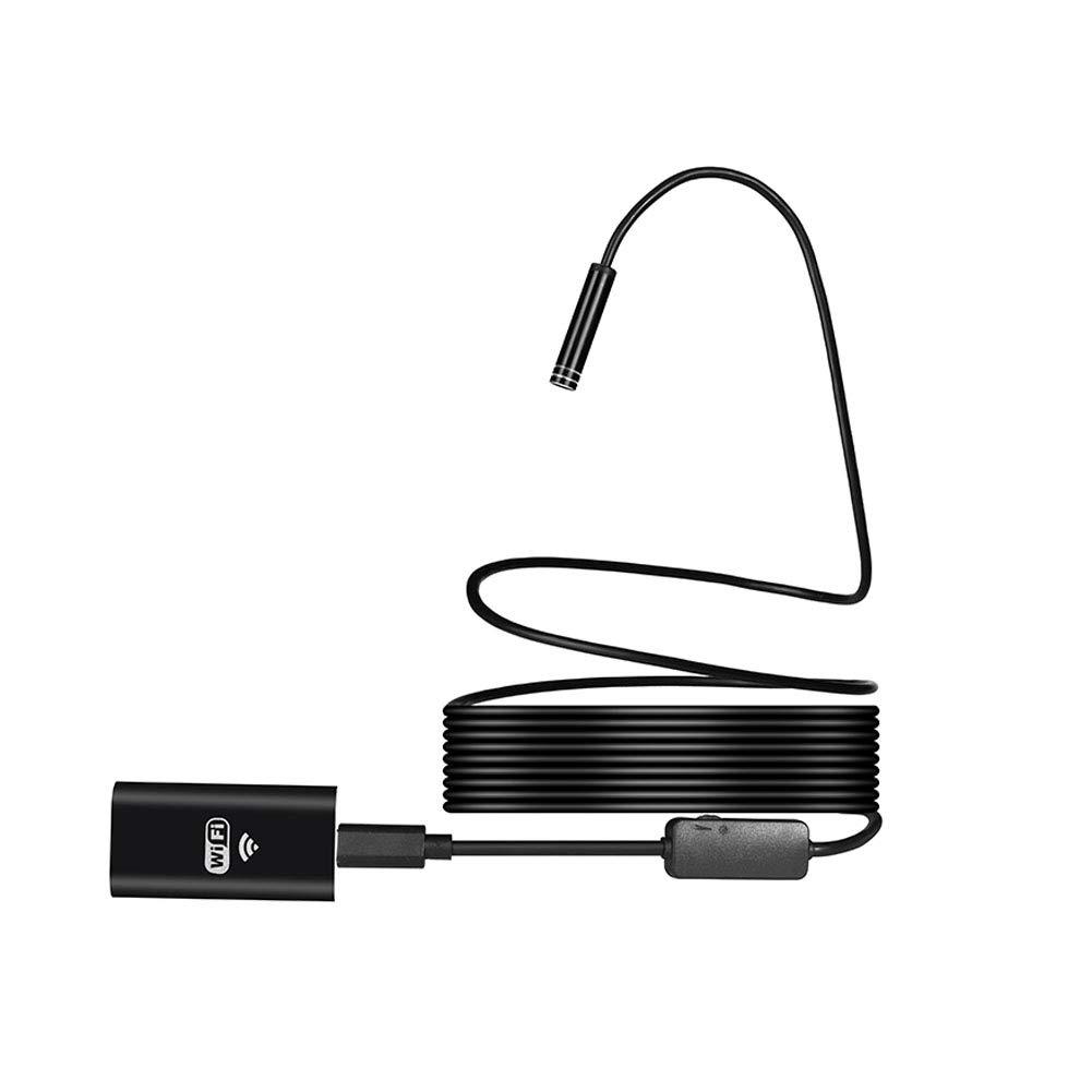 Romsion WiFi Endoscope Camera HD 720p 1 au 10 m câ ble Souple IP67 é tanche Serpent Inspection Tube Android iOS sans Fil Endoscope avec 7 Meters SZVG-1005PEL_03DQOFU4