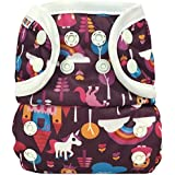 Bummis All-In-One Cloth Diaper - One Size - 8-35 Pounds - Fairy Tale