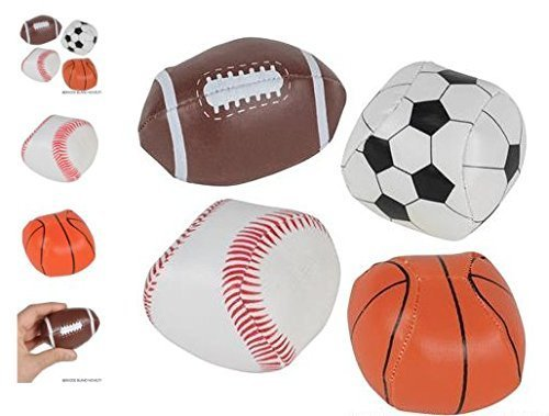 (24) 2 Soft Stuff Sport Balls ~ PARTY FAVOR ~ by RIN