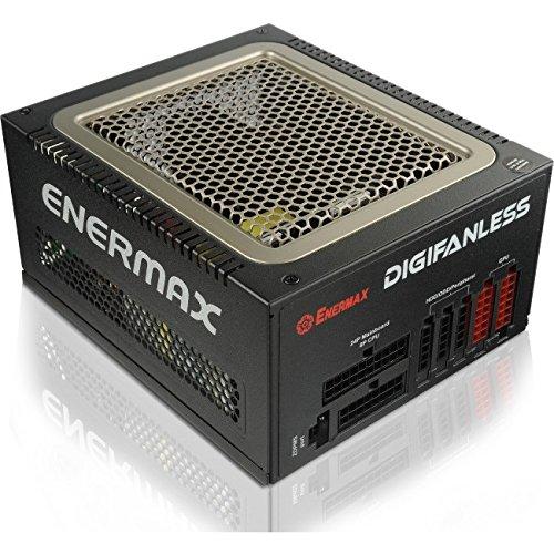enermax digifanless 80 plus platinum full modular 550w world 1st