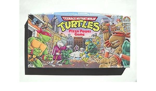 Amazon.com: Teenage Mutant Ninja Turtles - Pizza Power Game ...